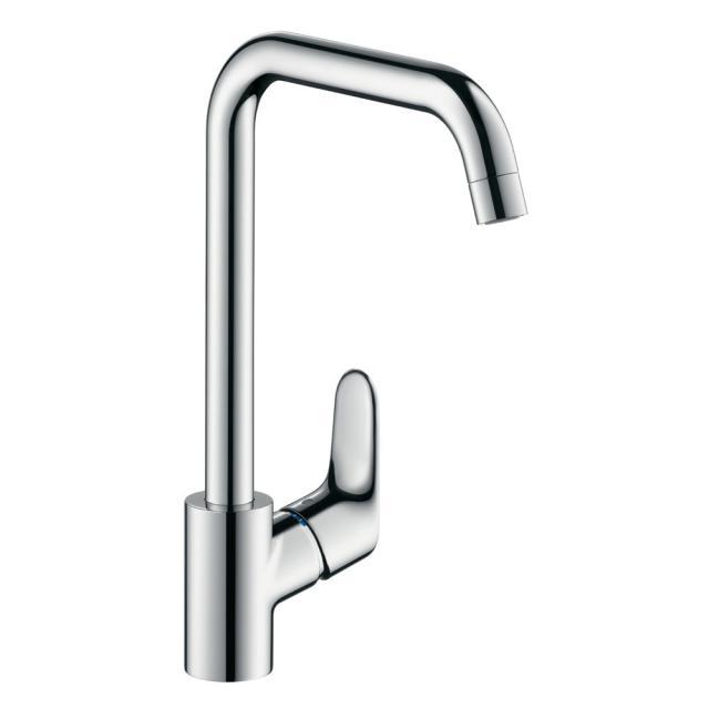 Hansgrohe Focus M41 Einhebel-Küchenarmatur für offene Heißwasserbereiter chrom