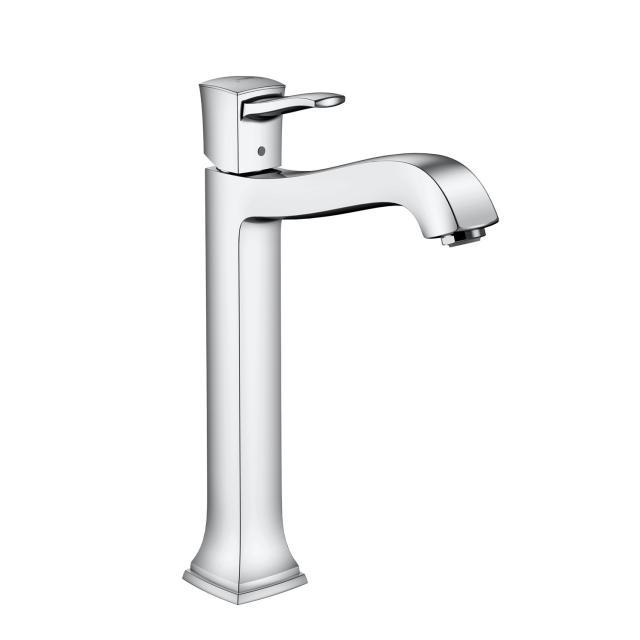 Hansgrohe Metropol Classic Einhebel-Waschtischmischer 260, für Waschschüsseln mit Ablaufgarnitur, chrom