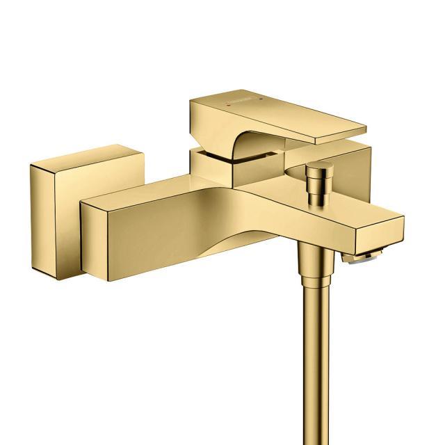 Hansgrohe Metropol Einhebel-Wannenmischer Aufputz, mit Zungengriff gold