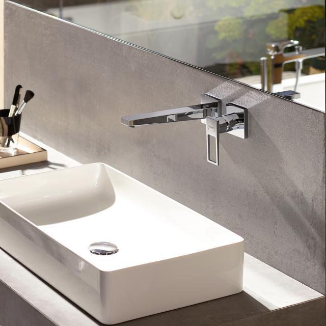 Hansgrohe Metropol Einhebel-Waschtischmischer für Wandmontage, mit Bügelgriff Ausladung: 225 mm