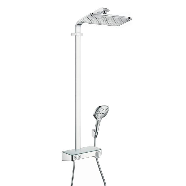 Hansgrohe Raindance Select E 360 1jet ShowerTablet Showerpipe ohne EcoSmart, chrom