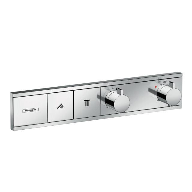 Hansgrohe RainSelect Thermostat für 2 Verbraucher, Unterputz chrom