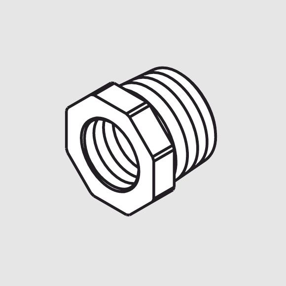Hansgrohe Reduziernippel für iBox und iBox mit Vorabsperrung Baujahr >07/11