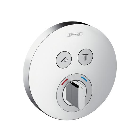 Hansgrohe ShowerSelect S Unterputz-Mischer für 2 Verbraucher