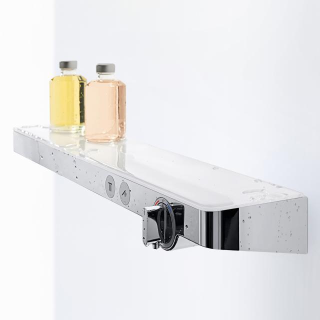 Hansgrohe ShowerTablet Select 700 Thermostat Universal für 2 Verbraucher weiß/chrom