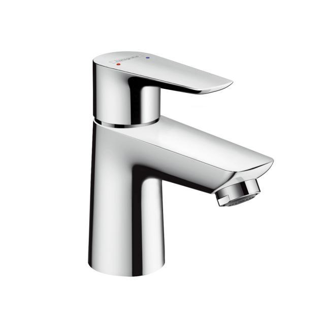 Hansgrohe Talis E Einhebel-Waschtischmischer 80, für offene Heißwasserbereiter mit Ablaufgarnitur
