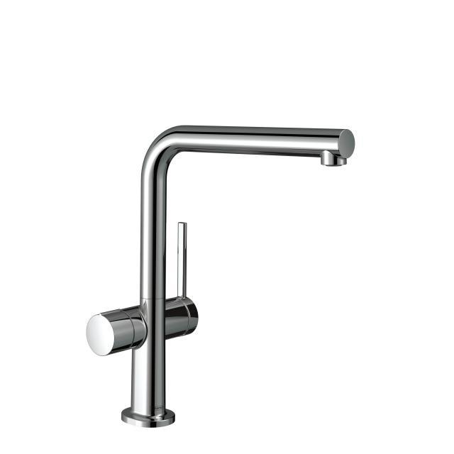 Hansgrohe Talis M54 Einhebel-Küchenmischer mit Geräteabsperrventil, schwenkbarer Auslauf chrom