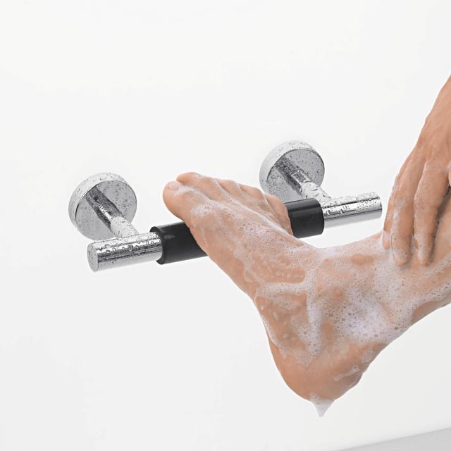 Hansgrohe Unica Comfort Fußstütze schwarz/chrom