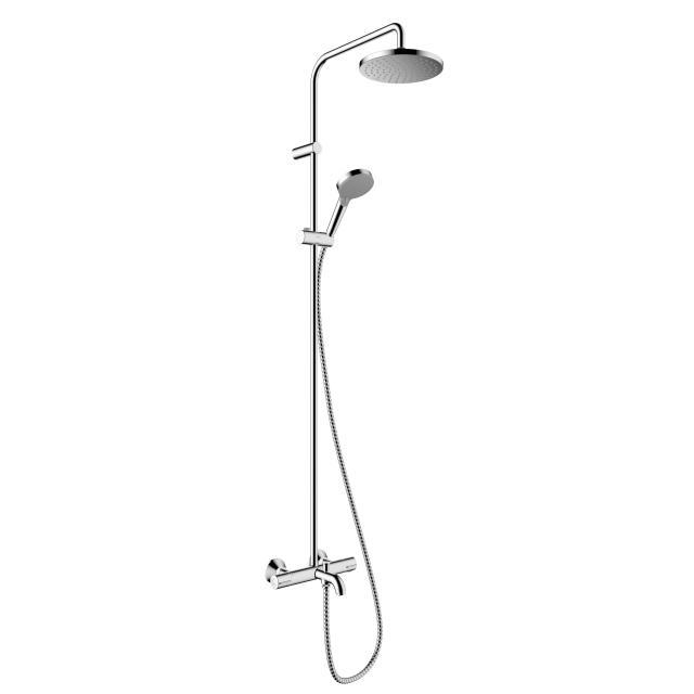 Hansgrohe Vernis Blend 200 1jet Showerpipe mit Wannenthermostat