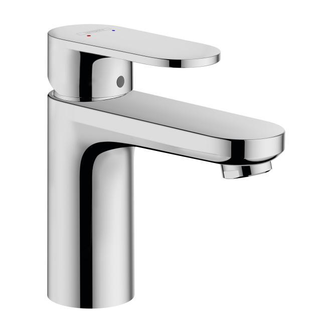 Hansgrohe Vernis Blend Einhebel-Waschtischmischer 100 mit isolierter Wasserführung und Ablaufgarnitur