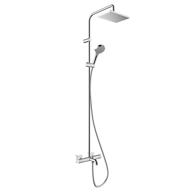 Hansgrohe Vernis Shape 230 1jet Showerpipe mit Wannenthermostat
