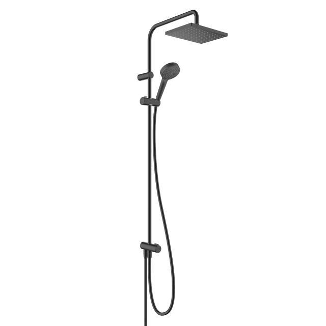 Hansgrohe Vernis Shape 230 1jet Showerpipe Reno schwarz matt
