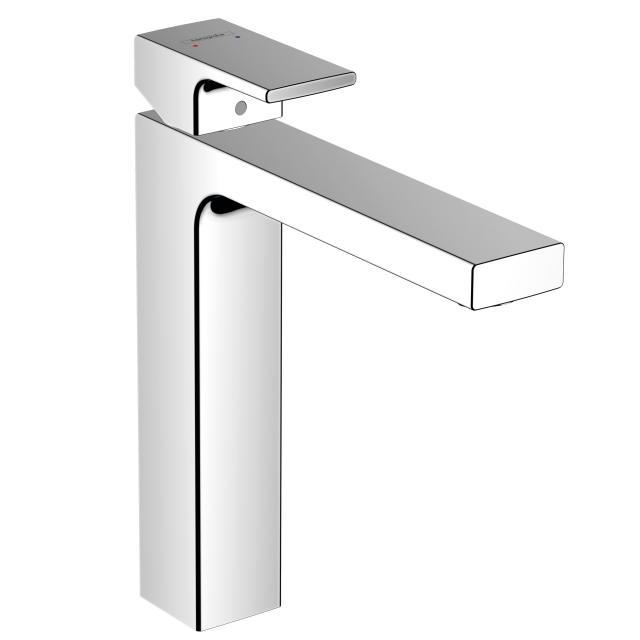 Hansgrohe Vernis Shape Einhebel-Waschtischmischer 190 mit Ablaufgarnitur aus Metall