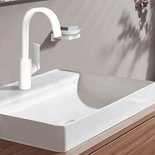 Hansgrohe Vivenis Einhebel-Waschtischmischer 210 weiß matt, ohne Ablaufgarnitur