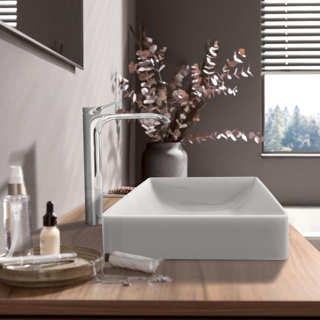 Hansgrohe Vivenis Einhebel-Waschtischmischer 250 für Waschschüsseln chrom, ohne Ablaufgarnitur