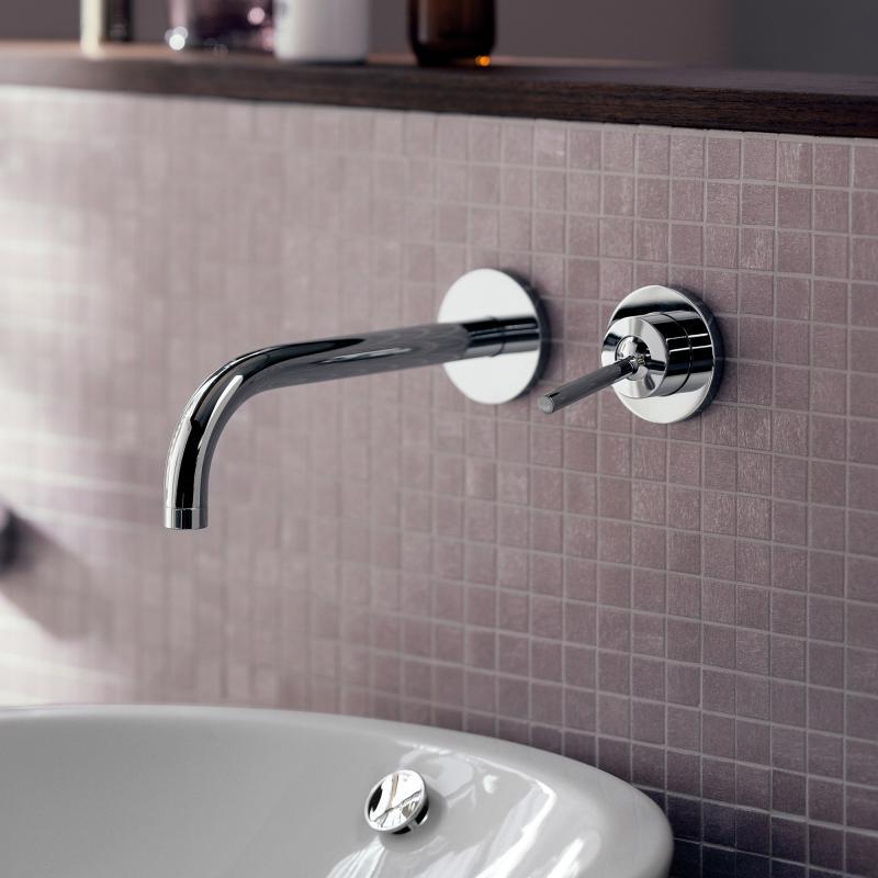 axor uno einhebel waschtischmischer mit rosetten f r. Black Bedroom Furniture Sets. Home Design Ideas