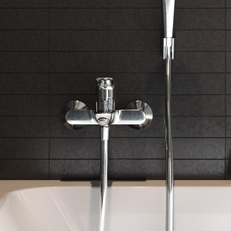 hansgrohe logis einhebel wannenmischer aufputz 71400000. Black Bedroom Furniture Sets. Home Design Ideas