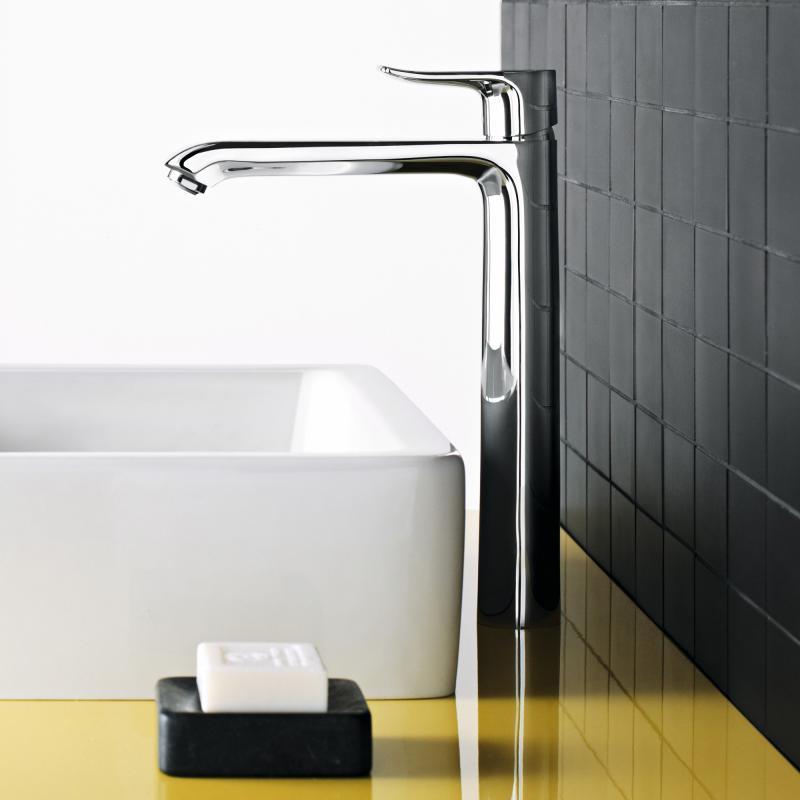 Hansgrohe metris einhebel waschtischmischer 260 f r for Armatur aufsatzwaschbecken