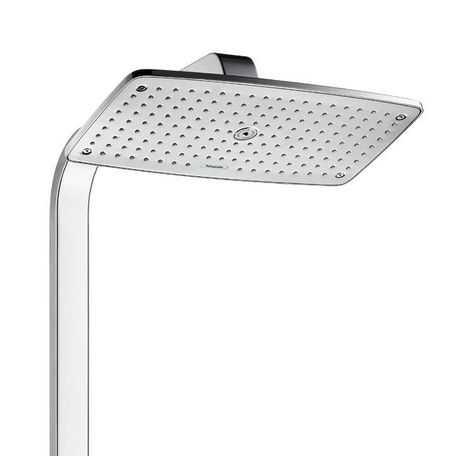hansgrohe raindance select e 360 1jet showerpipe ecosmart chrom 27286000 reuter. Black Bedroom Furniture Sets. Home Design Ideas