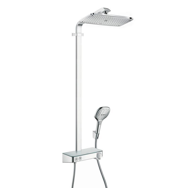 Hansgrohe Raindance Select E 360 1jet ShowerTablet Showerpipe chrom - 27288000 | REUTER