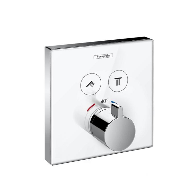 Hansgrohe Unterputz Thermostat : hansgrohe showerselect thermostat unterputz f r 2 verbraucher 15738400 reuter ~ Watch28wear.com Haus und Dekorationen