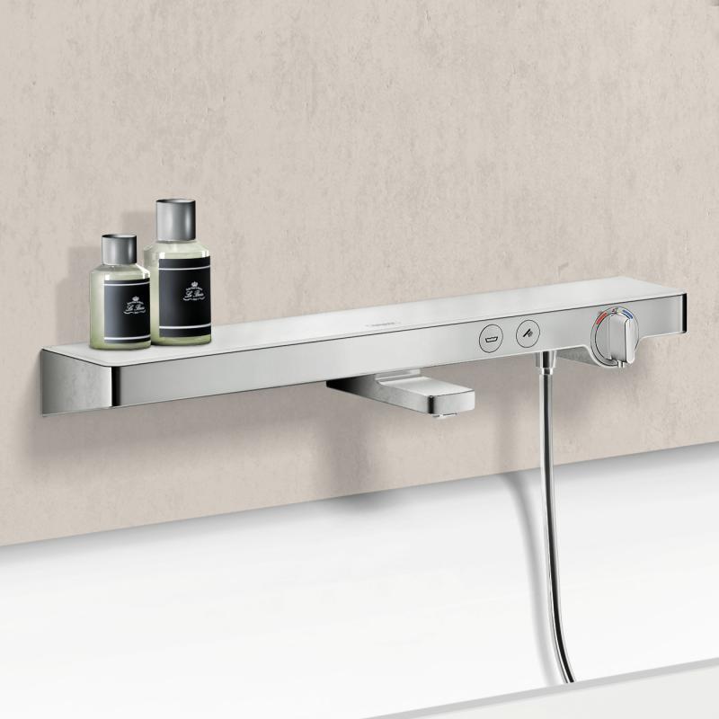 hansgrohe showertablet select 700 wannenthermostat aufputz. Black Bedroom Furniture Sets. Home Design Ideas