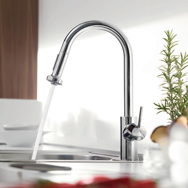 Unterschiedlich Hansgrohe Talis S² Variarc Einhebel-Küchenarmatur mit  RL22