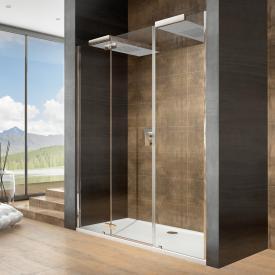 Hoesch CIELA for two Duschwand mit Kopfbrausen für Nische