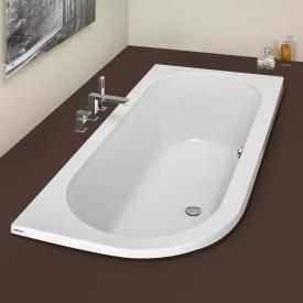 Hoesch HAPPY D Eck Badewanne rechts weiß