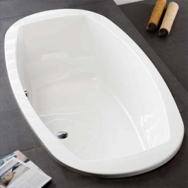 Hoesch LARGO Oval-Badewanne weiß
