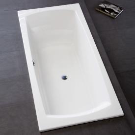 Hoesch LARGO Rechteck Badewanne weiß
