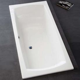 Hoesch LARGO Rechteck-Badewanne weiß