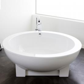 Hoesch MICHAEL GRAVES DREAMSCAPE Badewanne, rund, freistehend weiss ohne Bohrung