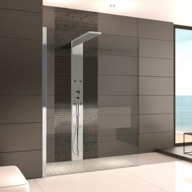 Hoesch THASOS Duschwand mit Duschsäule, Eckversion