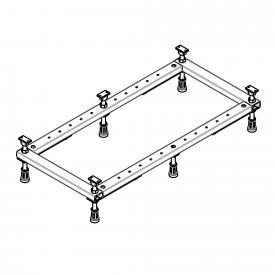 Hoesch Untergestell für Duschwanne L: 70 B: 70 bis L: 100 B: 75 cm