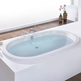 Hoesch WAIKIKI Oval-Badewanne weiß