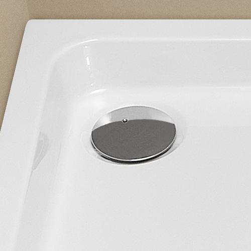 hoesch compact 90 ablaufarmatur chrom reuter. Black Bedroom Furniture Sets. Home Design Ideas