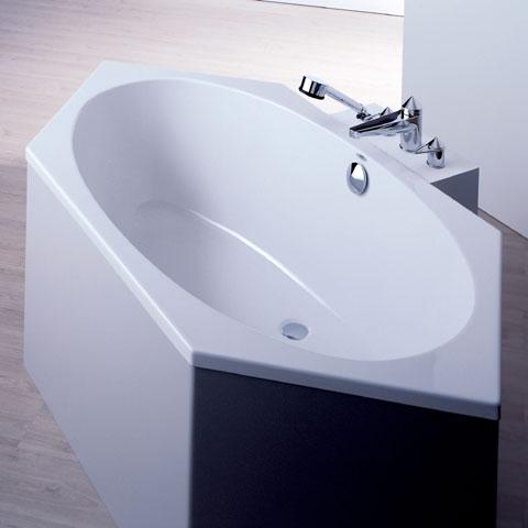 Hoesch ARMADA Sechseck-Badewanne weiß