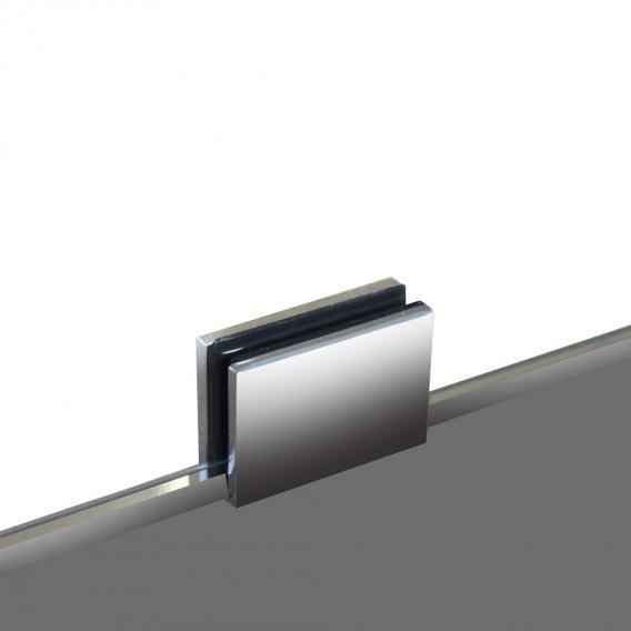 Hoesch ONE&ONE Duschwand, Eckversion für Seiteneinstieg