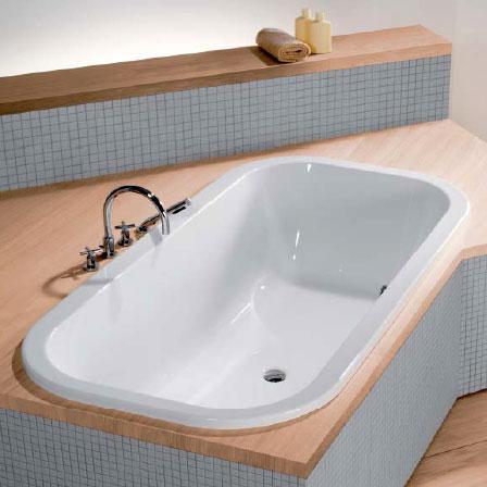 Hoesch ANDREE PUTMAN Oval-Badewanne weiß