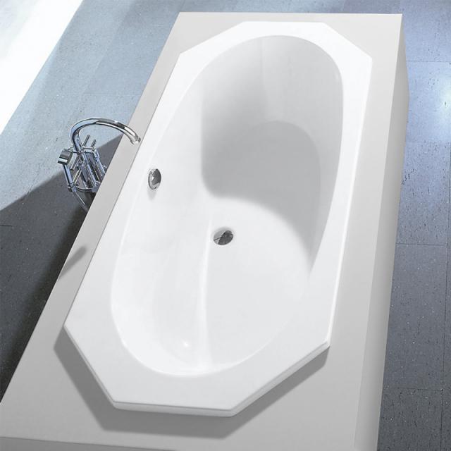 Hoesch ARMADA Achteck-Badewanne, Einbau weiß