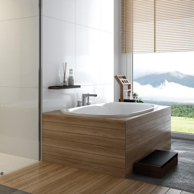 Hoesch iSENSI Oval-Badewanne