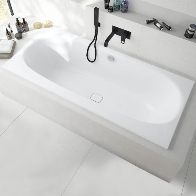 Hoesch iSENSI Rechteck-Badewanne, Einbau