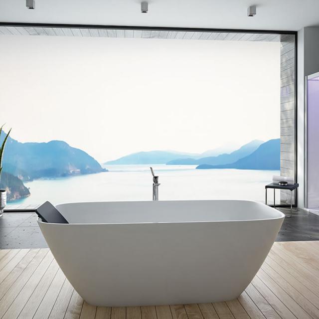 Hoesch LASENIA Freistehende Rechteck-Badewanne weiß matt