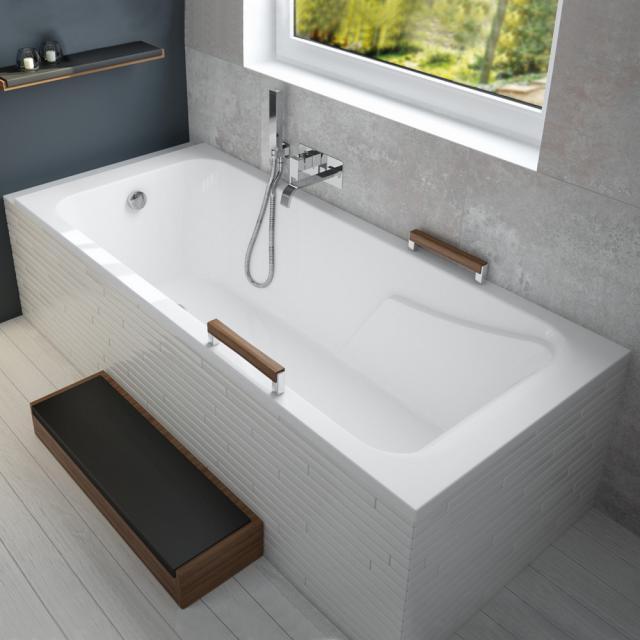 Hoesch MILA Rechteck-Badewanne, Einbau