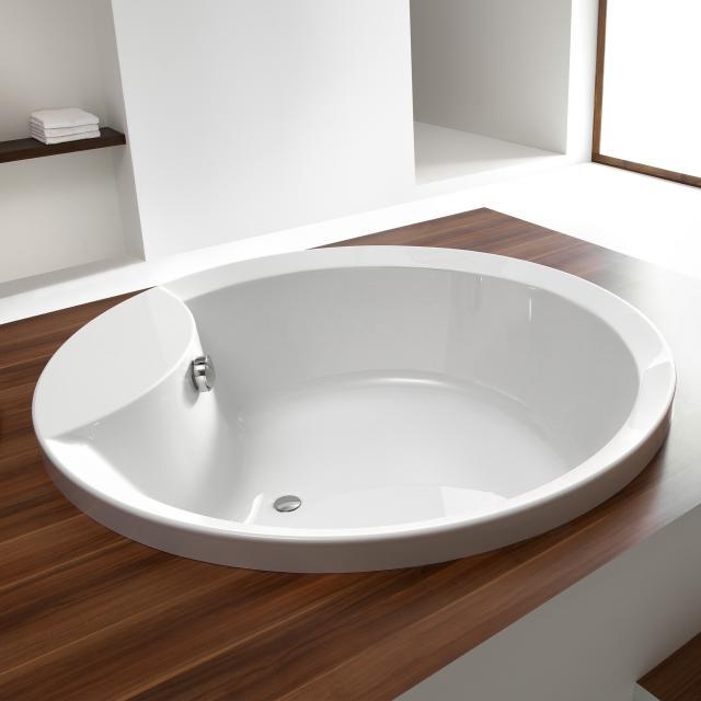 Hoesch ORLANDO Rund-Badewanne, Einbau weiß