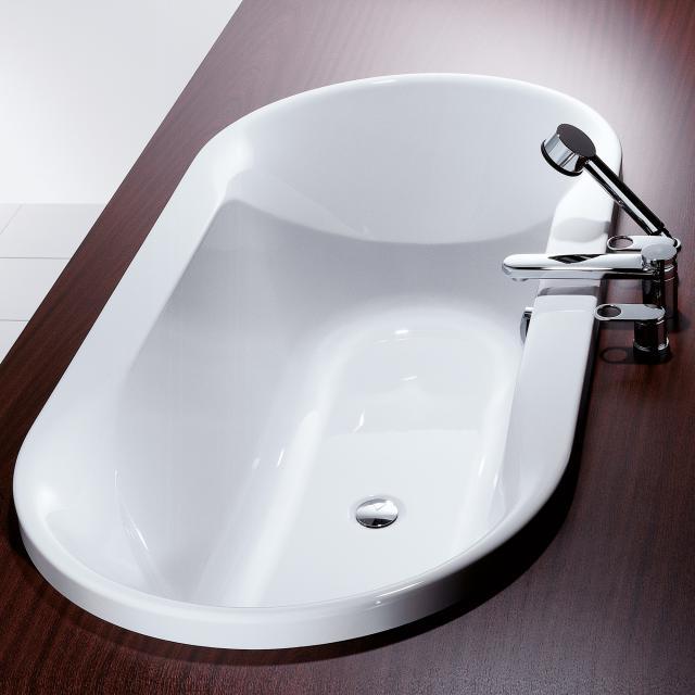 Hoesch SPECTRA Oval-Badewanne weiß