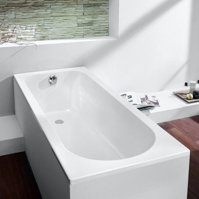 Hoesch TOPEKA Rechteck-Badewanne, Einbau