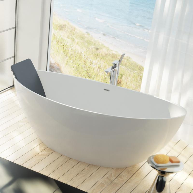 Hoesch badewannen  Hoesch NAMUR freistehende Badewanne - 4400.010 | REUTER