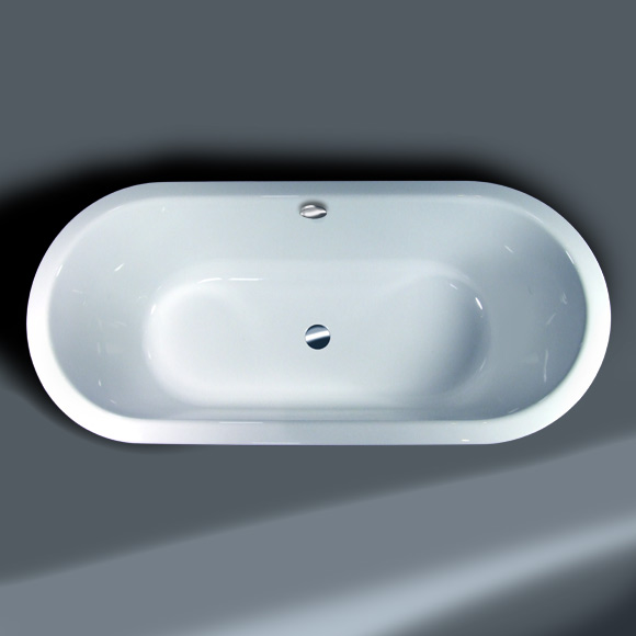 Hoesch PHILIPPE STARCK Edition 2 Badewanne, oval weiß ...